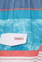 Billabong  - Variegated Stripe Boardie Multi-colour