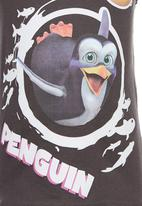 Jungle Beat - Penguin Print Vest Grey