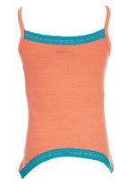 Lizzy - Strappy Vest Coral