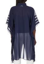 Gavin Rajah - Pintuck Shirt Navy