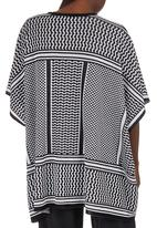 edit - Batwing Tunic Black and White