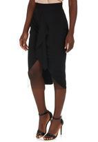 Gert-Johan Coetzee - Cut-out Skirt Black