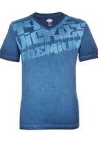 Dickies - V-neck Tshirt Mid Blue