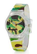 Cool Kids - Slim Camo Watch Multi-colour