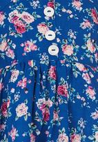 See-Saw - Sundress with Button Detail Multi-colour