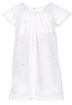 See-Saw - Mesh Shift Dress White
