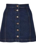 c(inch) - Mini Skirt Dark Blue