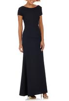 ELIGERE - Cap Sleeve Gown Navy
