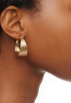 edit - Multi-strand Hoops Gold