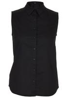 c(inch) - Sleeveless Shirt Black