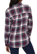 Tokyo Laundry - Checked Shirt Dark Red