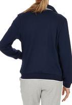 Erke - Full Zip Sweatshirt Dark Blue