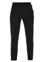 Erke - Knitted Cropped Pants Black