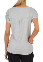 Erke - Crew Neck T-shirt Pale Grey