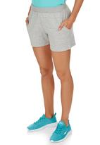 Erke - Knitted Shorts Pale Grey