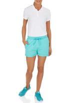 Erke - Knitted Drawcord Waist Shorts Light Green