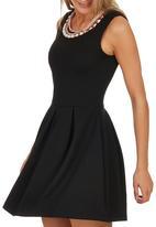 c(inch) - Babydoll Dress Black