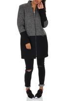 ONLY - Julia Mix Wool-like Coat Dark Grey