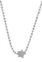 Jewels and Lace - Star Pendant Necklace Silver