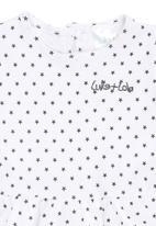 Luke & Lola - Printed Jersey Dress White