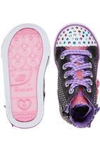 Skechers - Hi-Top Sneaker With Bows Black