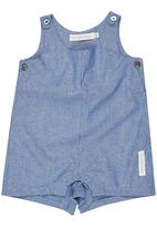 Tic Tac Toe - Dungaree Romper Pale Blue