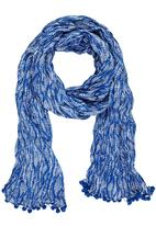 Joy Collectables - Nautical Printed Scarf Blue and White