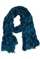 Joy Collectables - Printed Scarf Black and Blue