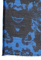 Joy Collectables - Printed Scarf Dark Blue