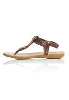 Sollé - Embellished Sandals Mid Brown