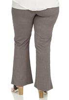 edit Plus - Boot Leg Trouser Mid Grey