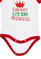 Funky Shop - Santas Princess Babygrow Multi-colour