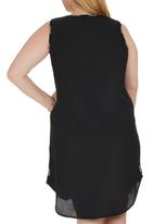 STYLE REPUBLIC PLUS - Tunic Dress Grey