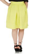 STYLE REPUBLIC PLUS - Midi Skirt Yellow