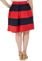 STYLE REPUBLIC PLUS - Midi Skirt Multi-colour