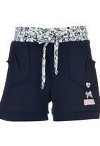 Eco Punk - Fleece Shorts Navy