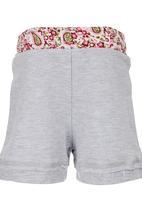 Eco Punk - Fleece Shorts Grey
