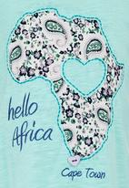 Eco Punk - Hello Africa Vest Light Green