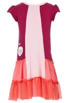 Eco Punk - Colour Block Dress Multi-colour