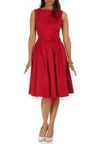 ELIGERE - Audrey Dress Red
