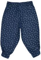 Rebel Republic - Slouch Pants Dark Blue