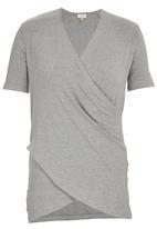 edit - Drape T-shirt Mid Grey
