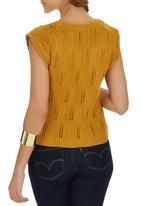 STYLE REPUBLIC - Knit Pull-over Cami Yellow