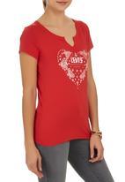 Levi's® - Split Graphic Tee Red
