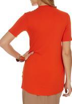 edit - Drape T-shirt Orange