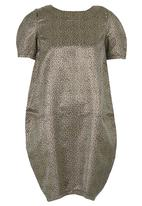 Fortune - Coccoon Dress Gold