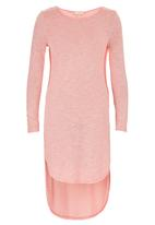 edit - High Low Tunic Coral