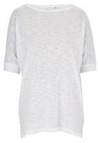 edit - Oversized Tunic White