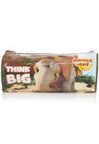 Jungle Beat - Elephant Pencil Case Orange