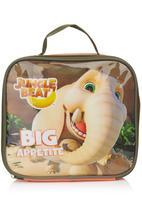 Jungle Beat - Elephant Lunch Box Orange